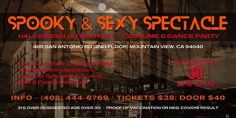 Spooky & Sexy Spectacle - Halloween Dance & Costume Party tickets