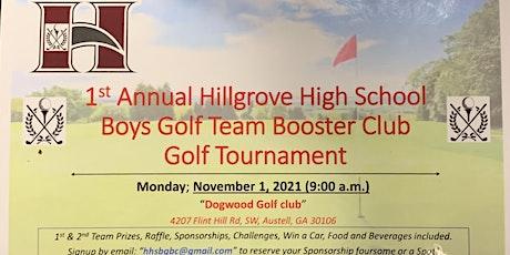 1st Annual Hillgrove High School Boys Golf Tournament tickets