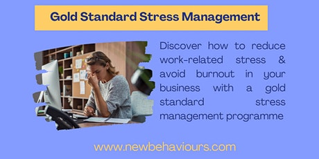 How to Implement a Gold Standard Stress Management Plan in your Business boletos