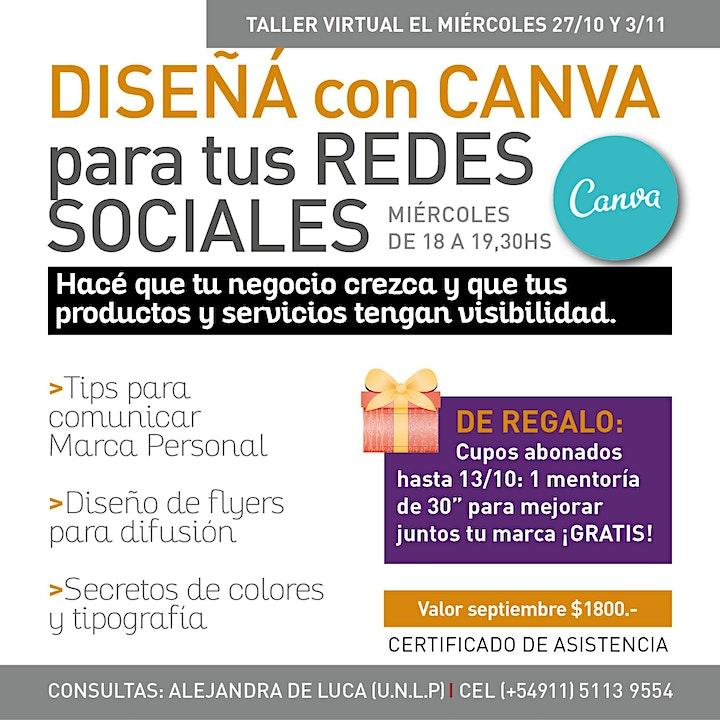Imagen de Diseñá con CANVA tus redes sociales
