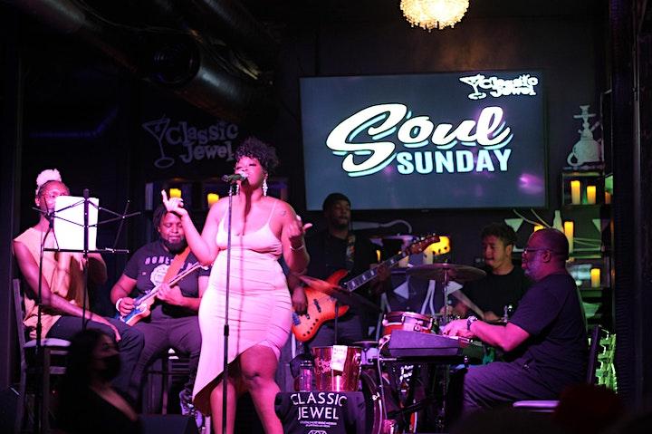 Soul Sunday  f/ Songstress CHIMINI-YOKA w/ The Vibe Tribe B @ Classic Jewel image
