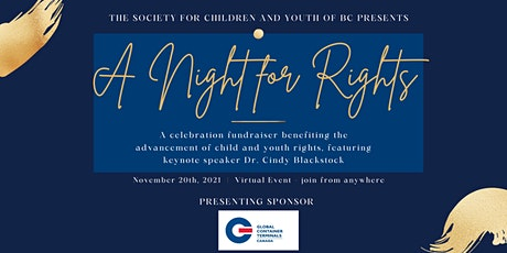 A Night for Rights - Featuring Dr. Cindy Blackstock tickets