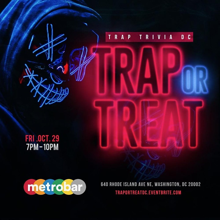 TrapTriviaDC: TRAP or TREAT!! image