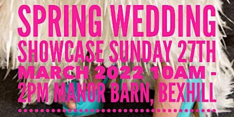 Spring Wedding Showcase 2022 tickets