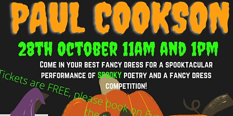 Paul Cookson's Spooky Poetry Show! tickets