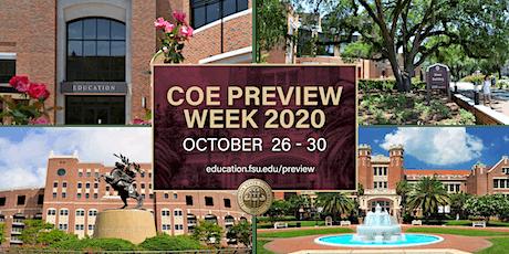 COE Preview 2021: Student Q&A Panel biglietti