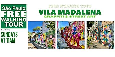 SP Free Walking Tour - VILA MADALENA (English) ingressos
