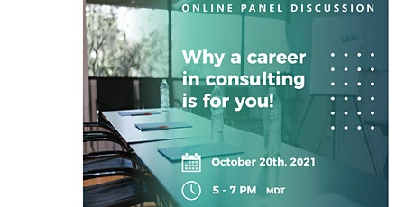 Online Panel Discussion: Why a Career in Consulting is for You! tickets