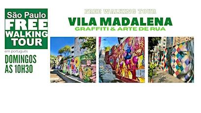 SP Free Walking Tour - VILA MADALENA (Português) ingressos