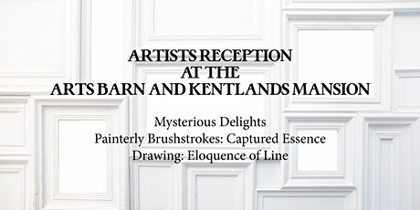 Artists Reception -  Painterly, Drawing and Mysterious Delights Exhibitions tickets