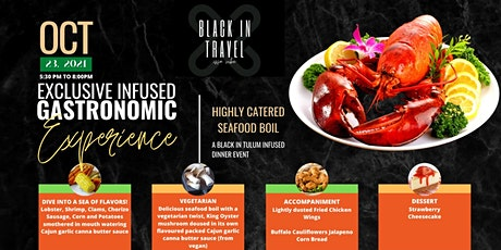 Exclusive Infused Gastronomic Experience boletos