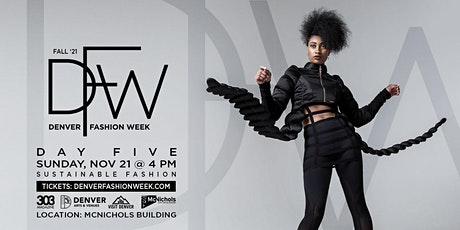 Sustainable  Fashion Show: DFW Day #5 Fall '21 tickets