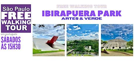 SP Free Walking Tour - IBIRAPUERA PARK (Português) ingressos
