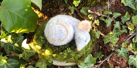 Needle felted sleeping mouse workshop at Redgrave & Lopham Fen ERC 2806 tickets