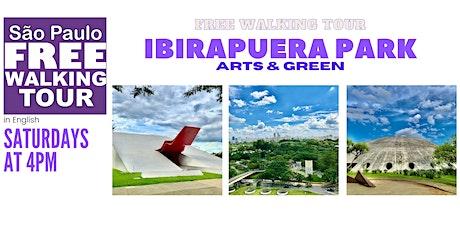 SP Free Walking Tour - IBIRAPUERA PARK (English) ingressos