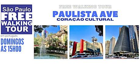 SP Free Walking Tour - AV. PAULISTA (Português) ingressos