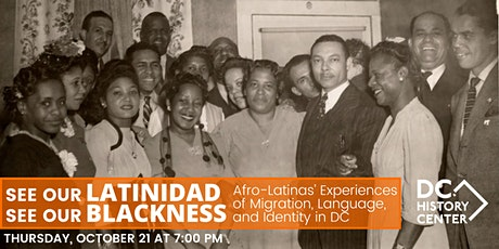 See Our Latinidad, See Our Blackness tickets