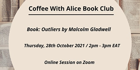 Coffee With Alice Online Book Club tickets