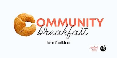 Community Breakfast BCN - October tickets