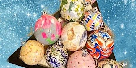 Découpage Workshop: Christmas Ornaments tickets