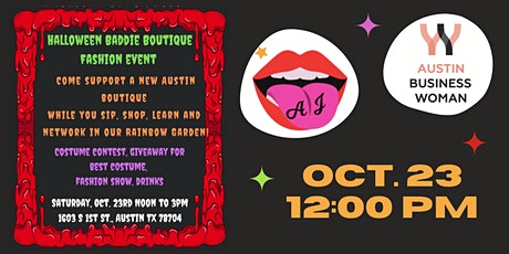 Halloween Baddie Boutique Fashion Event tickets