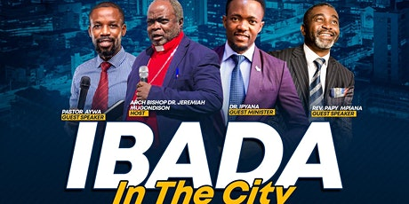 IBADA IN THE CITY tickets