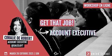 Workshop - Get that job!   Account Executive billets