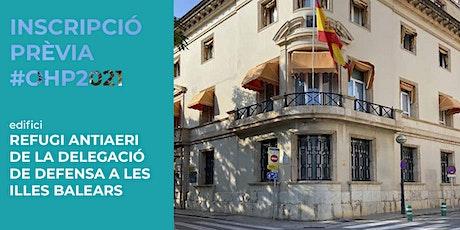 EDIFICI / Refugi antiaeri de la Delegació de Defensa a les Illes Balears entradas