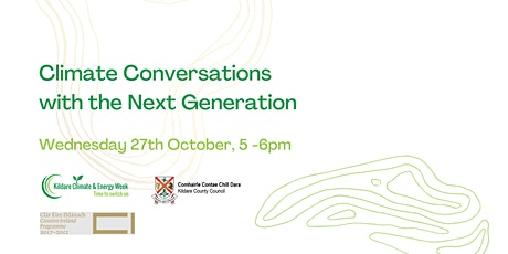 Climate Conversations with the Next Generation tickets
