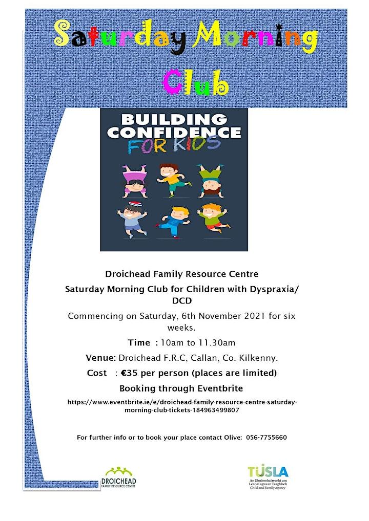 Droichead Family Resource Centre Saturday Morning Club image