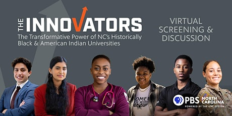 PBS NC Screening of The Innovators and Virtual Discussion tickets
