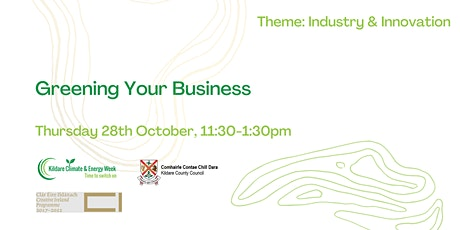 Greening Your Business tickets