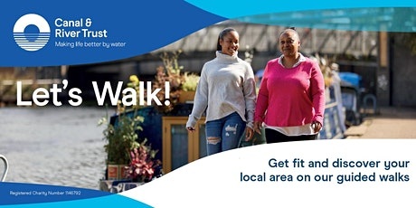 Let's Walk - Olympic Park  Canalside Wellbeing Walks tickets