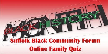 Black History and Culture Online Quiz tickets