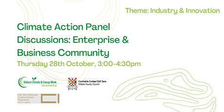Climate Action Panel Discussion: Enterprise & Business Community tickets