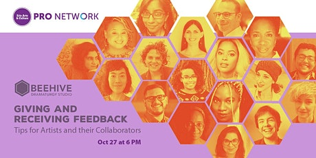 Giving and Receiving Feedback: Tips for Artists and their Collaborators tickets