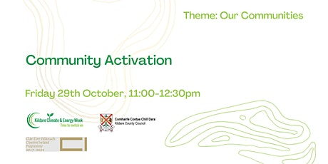 Community Activation Panel Discussion tickets