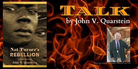 Talk by John V. Quarstein tickets
