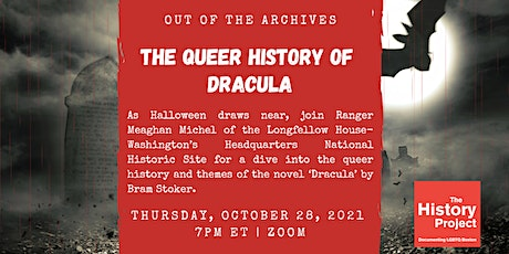 Out of the Archives: The Queer History of 'Dracula' tickets