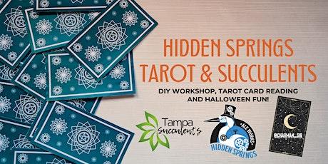 Tarot & Succulents DIY WORKSHOP @ HIDDEN SPRINGS ALE WORKS! || 10/27/21 tickets
