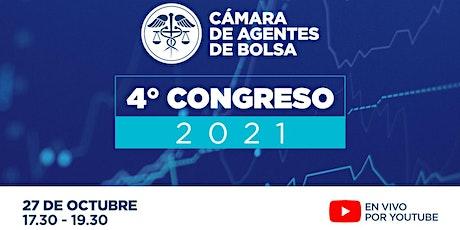 4° CONGRESO CÁMARA DE AGENTES DE BOLSA boletos