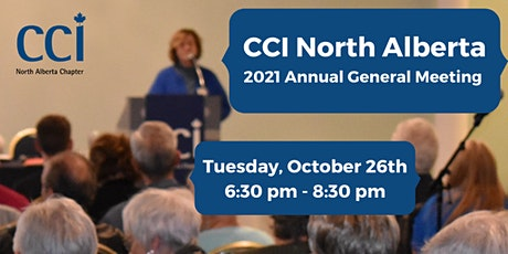 Annual General Meeting 2021 (CCI) tickets