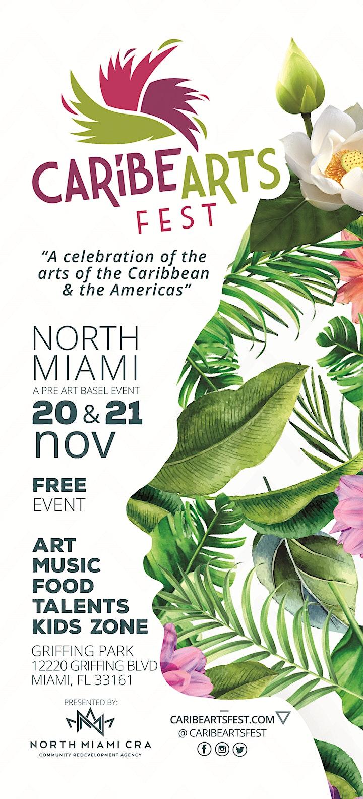 Caribe Arts Fest 2021- - image