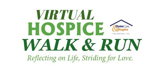 25th Annual Virtual Hospice Walk & Run- The whole month of October! tickets