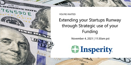 Extending your Startups Runway through Strategic use of your Funding tickets