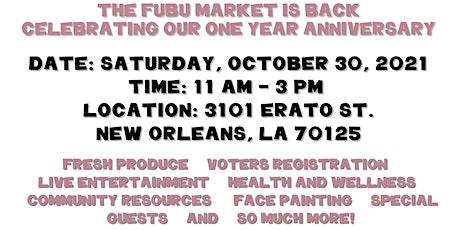 The FUBU Market's One Year Anniversary tickets