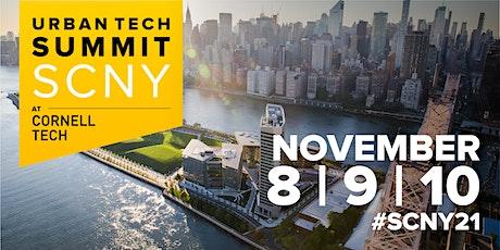 SCNY Urban Tech Summit at Cornell Tech tickets