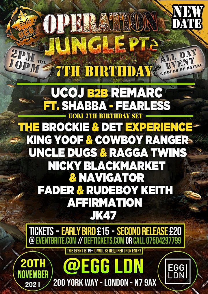 United Colours Of Jungle : 7th BIRTHDAY image