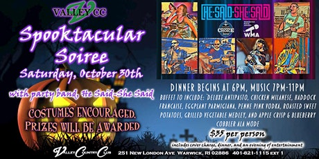 Spooktacular Soiree Halloween Party tickets