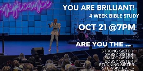 You are Brilliant! Bible Study tickets